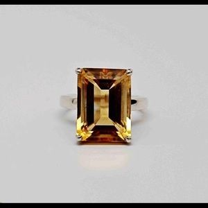 Tiffany Citrine Ring